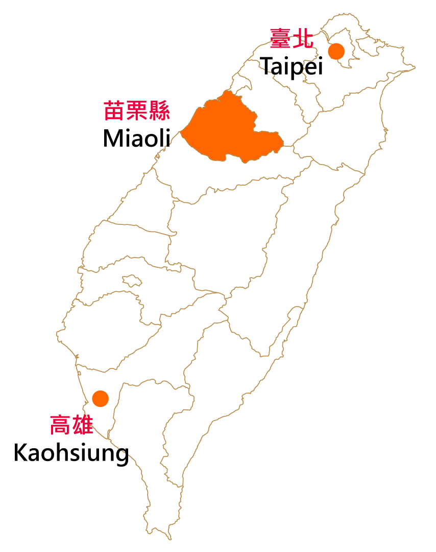 Miaoli County location