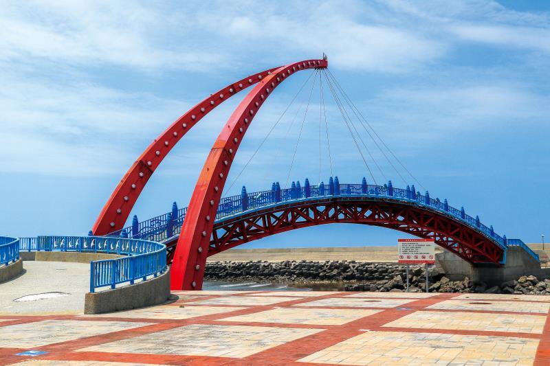 苑港觀光漁港 拱橋