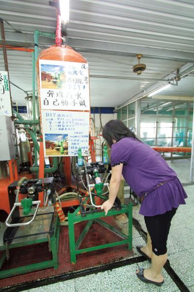 納姆內彈珠汽水觀光工廠 DIY彈珠汽水