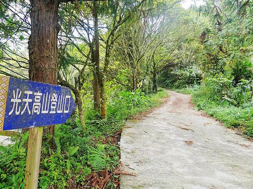 光天高山步道